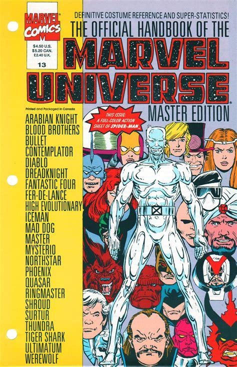 Master Vol 6 1 official handbook of the marvel universe master edition vol 1 13 marvel database fandom