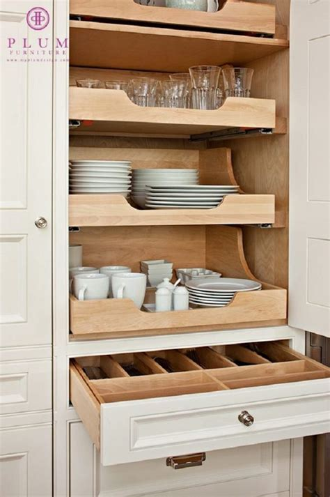 kitchen cabinet slide out shelf creative kitchen organizing solutions
