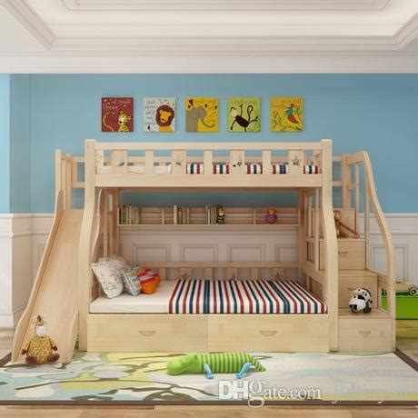 camas literas de madera para ni os compre camas de los ni 241 os venta caliente nuevo dise 241 o