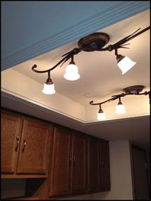 replace ceiling light fixture kitchen replacing kitchen fluorescent light fixtures
