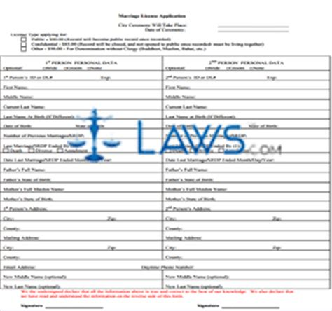 form ca marriage license application county of los angeles