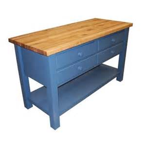 Kitchen Work Islands by Butcher Block Kitchen Island 303k4 From Coastal Woodcraft