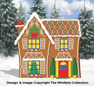 Woods Gingerbread House Commercial Gingerbread Gingerbread House Woodcraft Pattern
