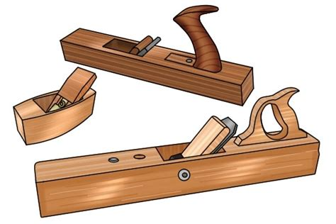 wooden bench plane what are the parts of a wooden bench plane