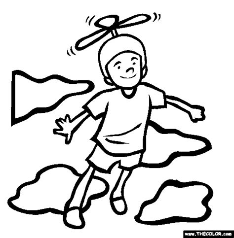 Free Online Coloring Pages Thecolor Flying Coloring Pages