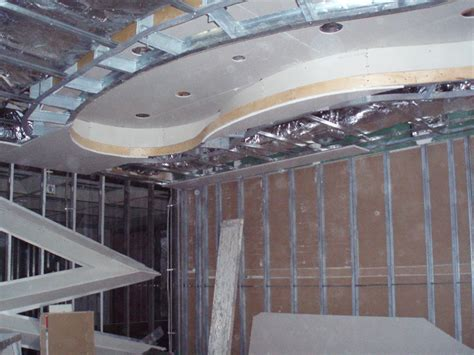 how to build a recessed ceiling sam paul drywall inc insulation drywall metal studs
