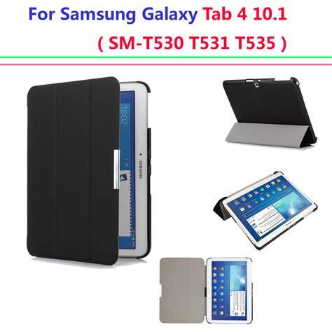 Samsung Tab 4 T531 ultra slim cover for samsung galaxy tab 4 10 1 smart cover auto sleep sm t530 t531