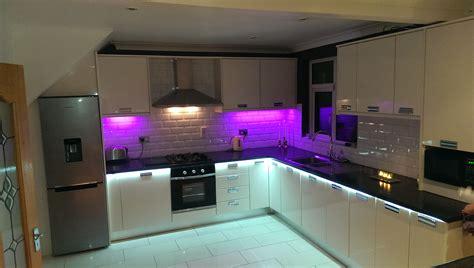 pics for gt led strip lights for kitchen
