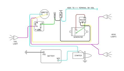 6 volt generator voltage regulator wiring diagram wiring