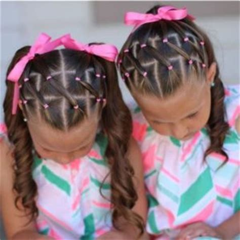 easy hairstyles with rubber bands kids hairstyles 15 easy hairstyles for kids with short or