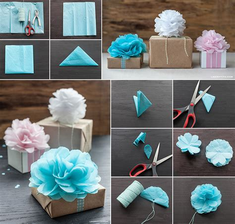 How To Make Tissue Paper Pom - tissue paper mini pom poms 2 2
