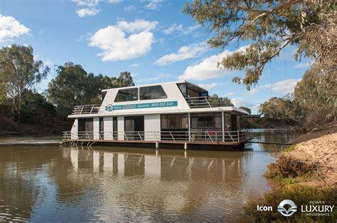 house boats murray echuca luxury houseboats murray houseboat holidays