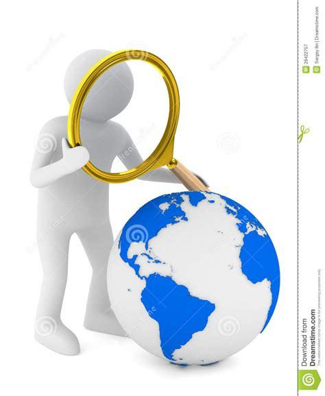 Global Search Free Global Search On White Royalty Free Stock Photography Image 29422757