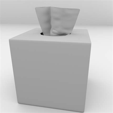 Tissu Box Model Toto Gtwo Tissue Box 2 3d Model 3ds Fbx Blend Dae Cgtrader