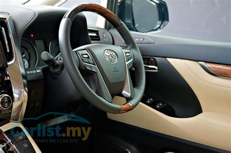 Toyota Gear Price Malaysia The 2016 Toyota Vellfire Exclusive Early Access To The