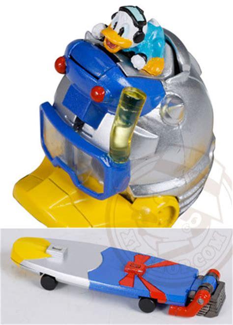 Donald Transformer Takara takara tomy transformers disney label donald duck