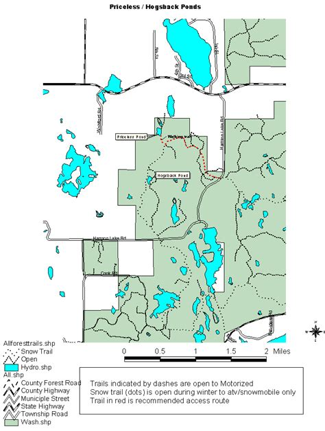 Washburn County Property Tax Records Trout Ponds Of The Washburn County Forest Map