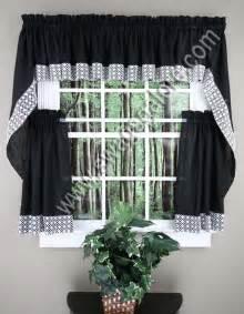 Swag Curtains For Kitchen Salem Kitchen Curtains Lorraine Jabot Swag Kitchen Curtains