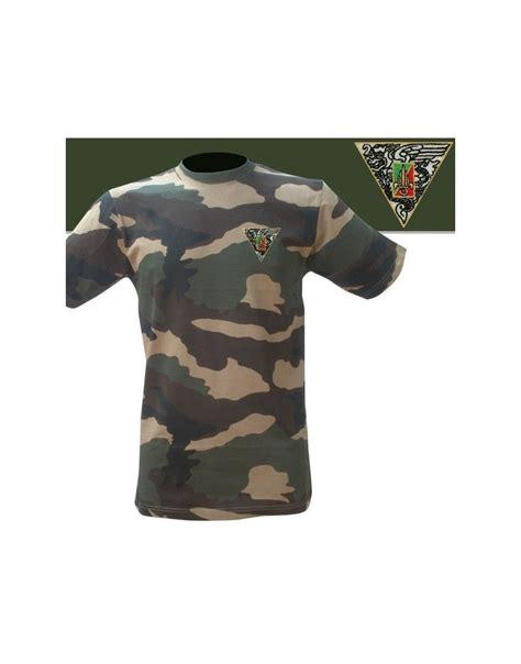 T Shirt 2 t shirt brod 233 2e rep militaire para l 233 gion arm 233 e fr