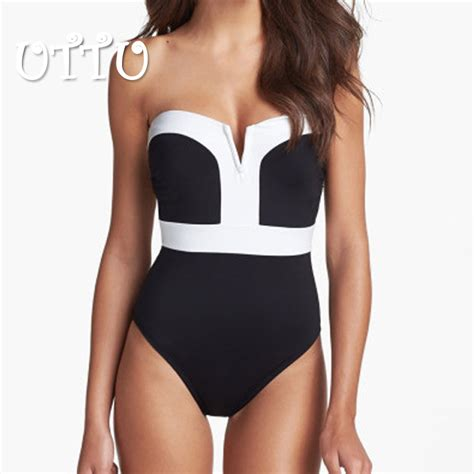 2016 new high quality solid one swimsuit plus