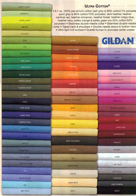 gildan colors gildan shirt color search color gt wheels