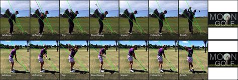golf swing sequence photos golf swing analysis for iphone and ipad golf swing