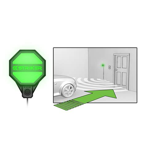 amazoncom striker  garage parking sensor automotive