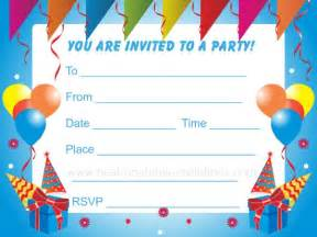birthday invitations for free printable invites