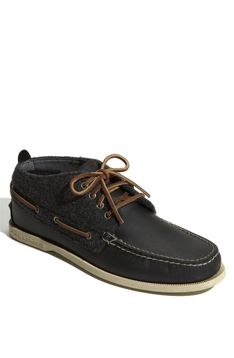 sperry chukka boot sperry top sider authentic original chukka boot in black