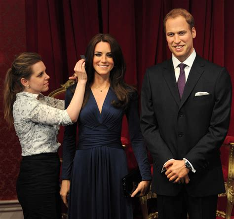 Wax Kate Unveiled by William And Kate S Wax Statues Are Unveiled In Madame