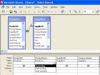 langkah membuat simple query wizard welcome to my blogspot tugasan microsoft access