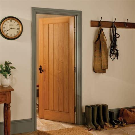 Traditional Panelled Clear Pine Internal Unglazed Door H Cottage Door Furniture