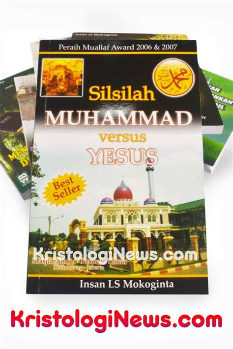 Buku Bible Question Answers silsilah muhammad versus yesus kristologi debat islam kristen buku insan mokoginta buku