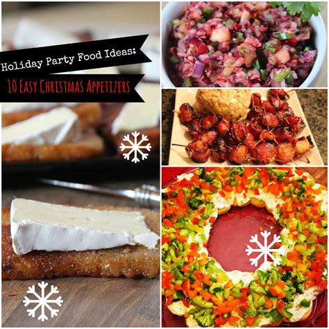 holiday party food ideas 10 easy christmas appetizers