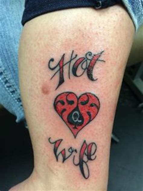 hotwife tattoo 1000 images about of spade tattoos et bijoux on