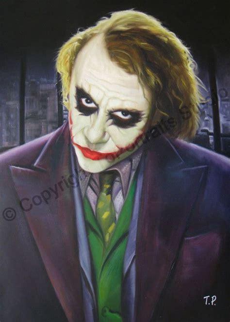 Heath Ledgers Joker Poster Was A by Heath Ledger The Joker The Batman Original