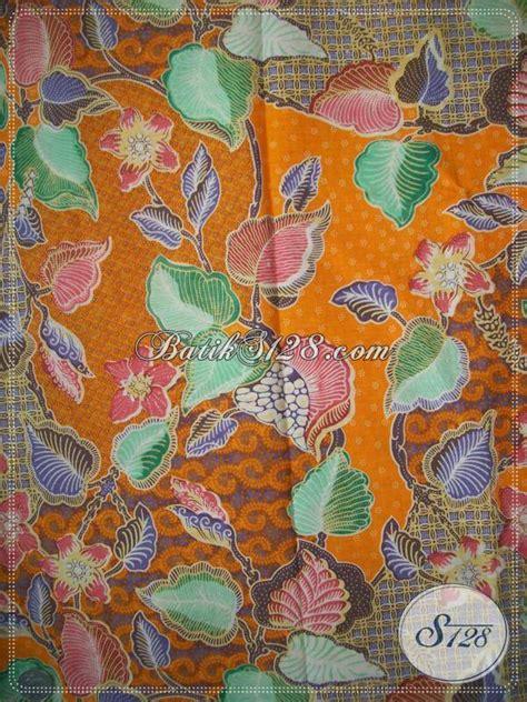 Batik Katun Motif Daun Pejabat aneka kain batik dengan motif daun dan bunga cocok untuk
