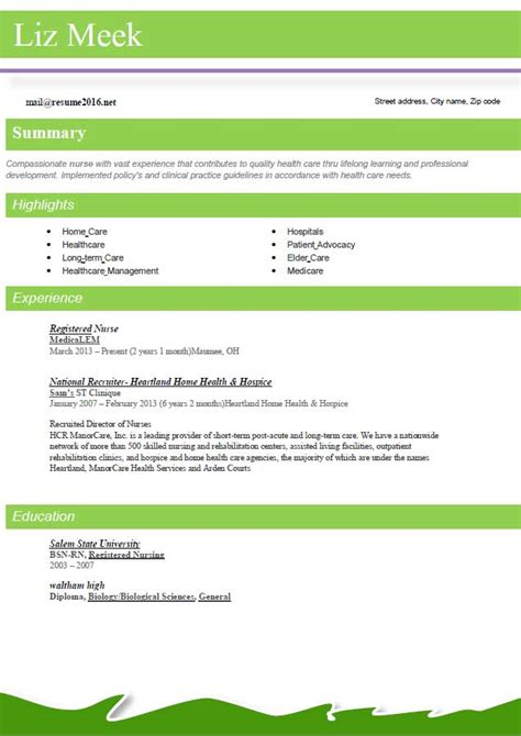 Job Resume Words by Resume Format 2016 12 Free To Download Word Templates