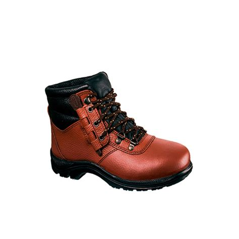 Sepatu Low Boots Bison Safety Kulit sepatu boot safety murah osha ankle boot 2228 dr osha