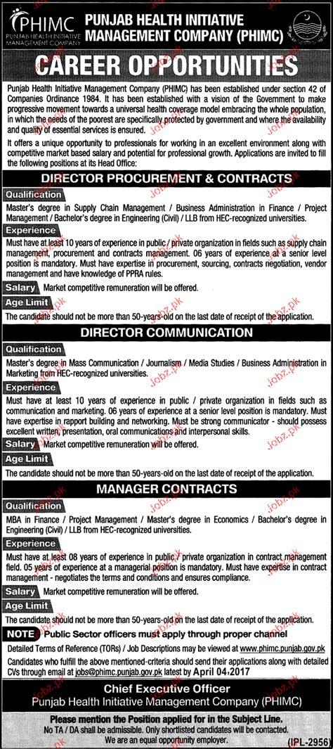 director procurement director communication wanted 2018