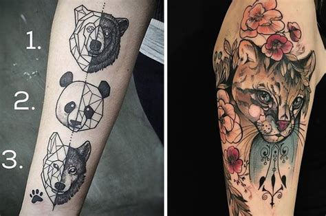 animal tattoo buzzfeed 23 tattoos for people who just fucking love animals