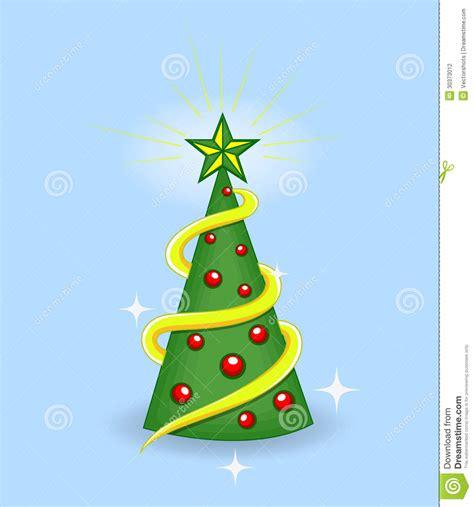 vector del arbol de navidad fotografia de archivo libre de regalias 193 rbol de la historieta ejemplo del vector de la navidad