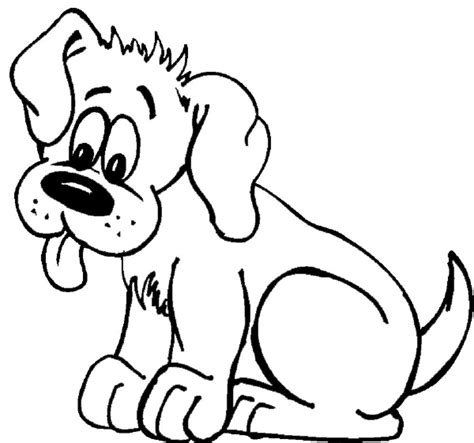 simple dog coloring page simple dogs coloring pages coloringsuite com