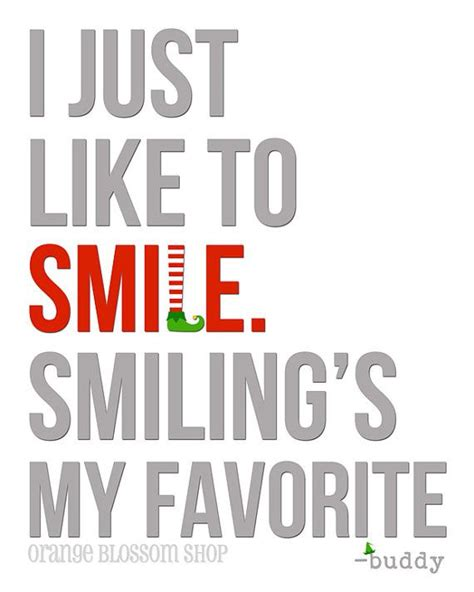 printable quotes from elf cute buddy the elf christmas print i just by