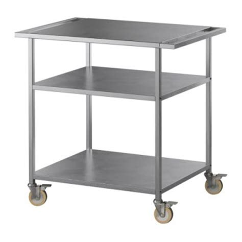 dacke kitchen island freestanding free standing kitchen unit stainless steel