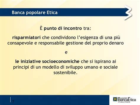 conto banca etica banca etica