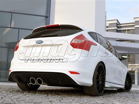 ford focus  st   rear bumper extension