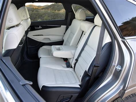 kia sorento 2017 leather seats comparison test 2017 kia crossover conundrum