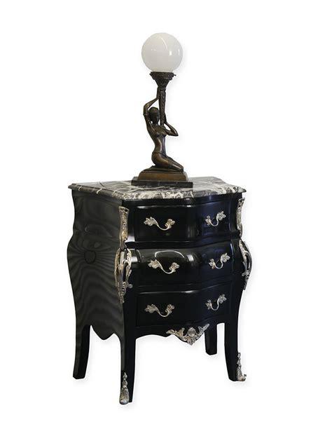 schwarze kommode edle schwarze kommode im barock stil kommoden und
