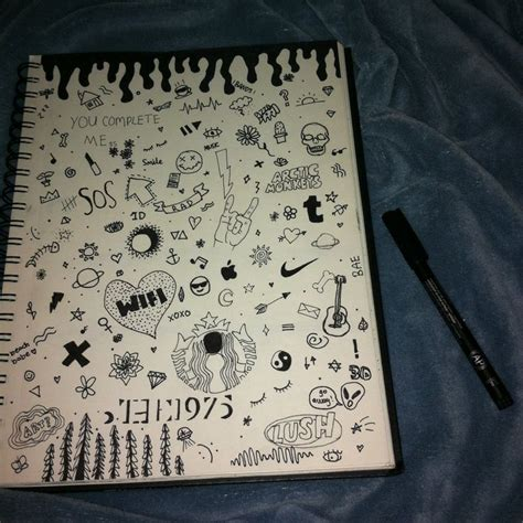 doodle imagine draw notebook notebook doodles search doodles